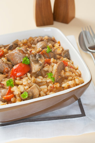 Lamb and Barley Stew